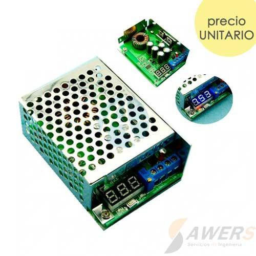 Regulador Step-down 0.8-29V 10A 200W