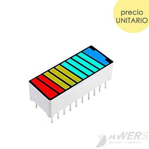 Barled 10 segmentos (indicador de nivel bateria)