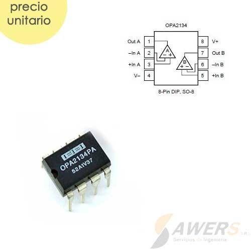 OPA2134 Dual OP-AMP de Audio SoundPlus