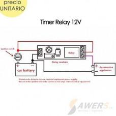 Relay Temporizador NE555 0-10Sec 12VDC