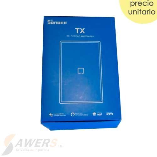 Sonoff Touch T0US2C (Interruptor de Luz Tactil WiFi 2020)