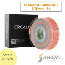 Filamento ABS Negro 1.75mm - 1Kg