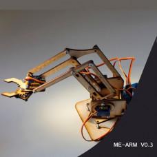 Brazo Robotico Didactico (Kit para armar)