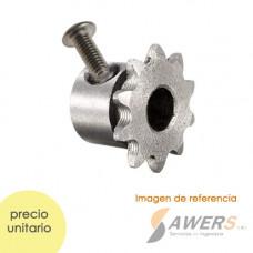 Polea piñon Motor Sincrono KTY ID=8mm 10Dientes