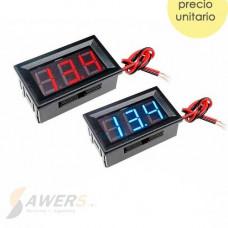 Voltimetro Digital Tablero 3-30V 0.56inch AZUL