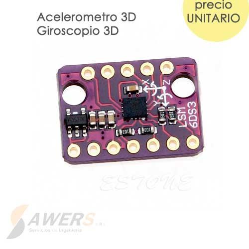 LSM6DS3 Acelerometro-Giroscopio 9DOF