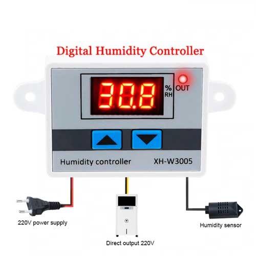 XH-W3005 Higrometro digital de humedad 220VAC