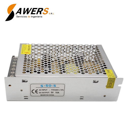 Fuente Switching 5V-10A-50W 220VAC