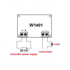 XH-W1401 Termostato Digital Inteligente 12V