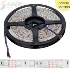 Tira de Led RGB 5050 5Mts 12VDC