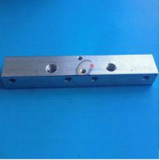MK7 Bloque de Aluminio para Dual extrusora