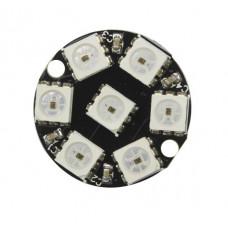 WS2812 Circular 7Led-RGB programable