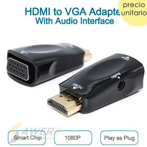 Adaptador HDMI a VGA para Raspberry PI