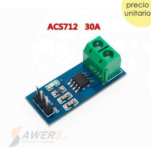 Sensor De Corriente ACS712 30A