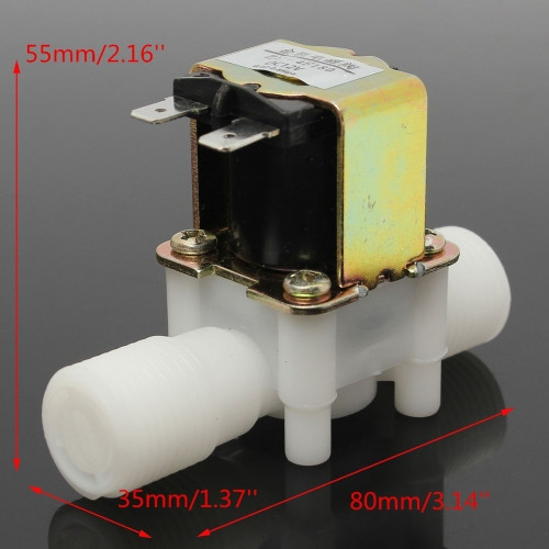 Valvula Solenoide 220VAC NC 1/2inch