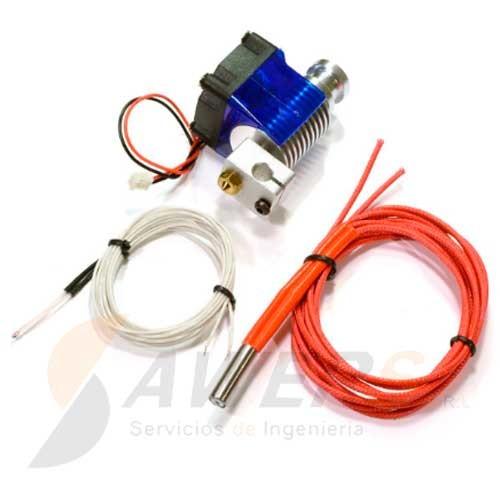 Hotend E3D J-head V6 Full Kit con PTFE