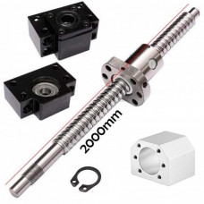 SFU1605 kit tornillo de bolas 2mts  BK12/BF12