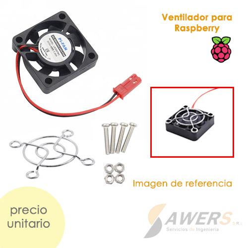 Ventilador para Raspberry Pi 30x30x10mm