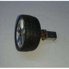 2xRueda de Goma para Micromotores Pololu 40x15mm