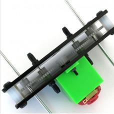 Kit motorreductor C5 12:1 Doble Eje 3V