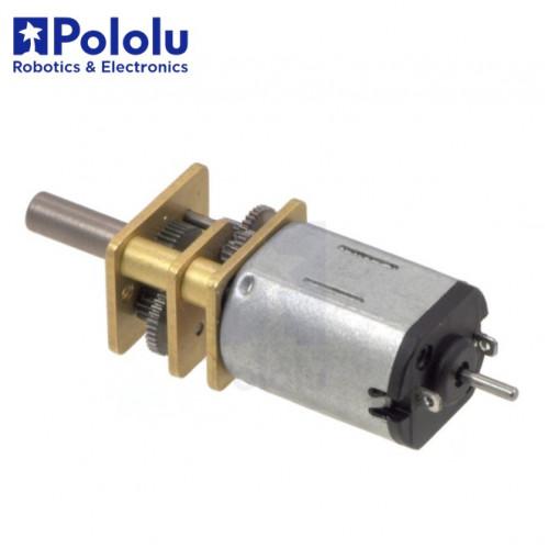 Micro Motor Pololu 30:1 HP 6V eje extendido