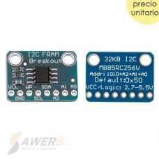 MB85RC256V Memoria FRAM 32Kb IIC