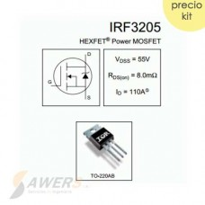 IRF3205 Mosfet N 55V 110A