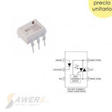 MOC3062 Optoacoplador Triac Zero Crossing 600V
