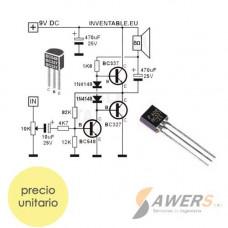 BC337 Transistor NPN 45V 100MHz 400 hFE