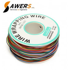 Cable flexible AWG-30 Rollo 8 colores - 250Mts