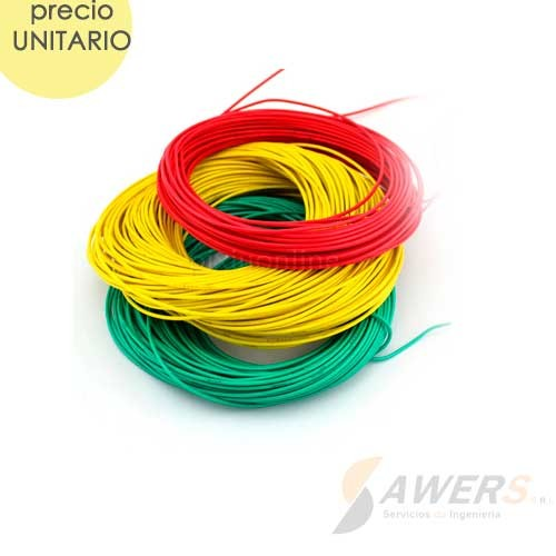 Cable Flexible 2mm 750V 20Mts