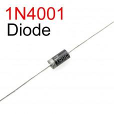 1N4001 Diodo Rectificador 50V 1A