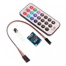 HX1838 Control Remoto IR y Receptor NEC