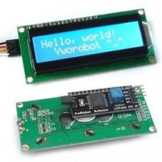 Pantalla LCD Alfanumerica 16x2 con Modulo IIC