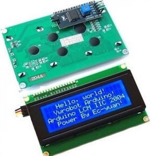 Pantalla LCD Alfanumerica 20x4 con modulo I2C