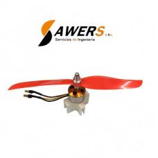 Helice ZFT-1045 Propeller CW CCW (Par)