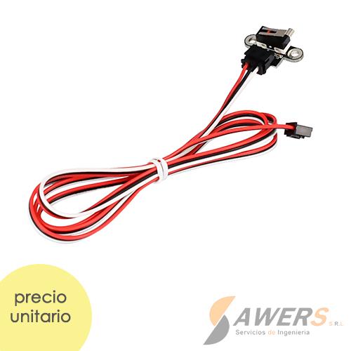 Filamento Creality PLA Fluorescente Naranja 1.75mm 1Kg
