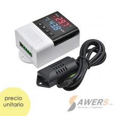 DTC-3200 220V-10A Higrometro Digital temperatura-humedad