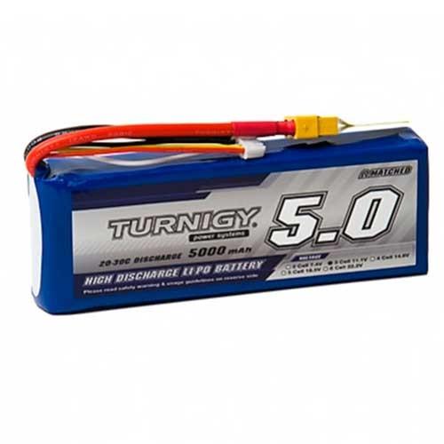 Bateria Lipo 11.1V 5000mAh 3S 20C Turnigy