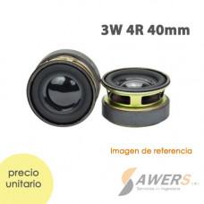 Mini Parlante 3W 4R 40mm