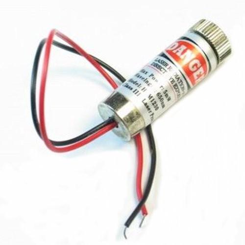 Puntero Laser 5mW 650nm Linea/Punto 5V