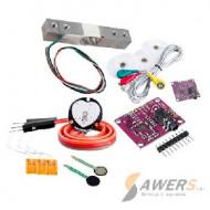 Sensores ECG, EMG, Fuerza