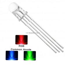 Led RGB 5mm Anodo/Catodo Comun