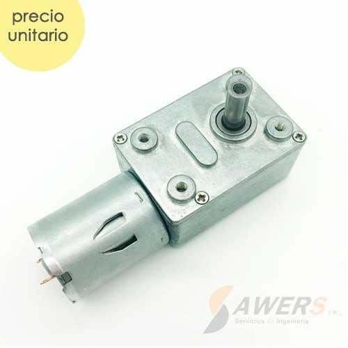 Motorreductor alto torque JGY370 12V 10RPM