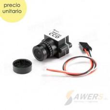 Mini Camara FPV 1000TVL 1/3CCD 110Grados 2.8mm NTSC