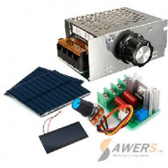 Panel Solar y Dimmers