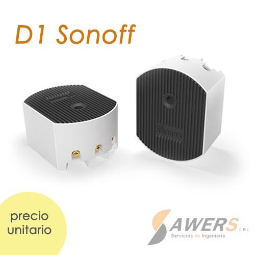 Sonoff D1 WiFi -RF433Mhz Interruptor Dimmer