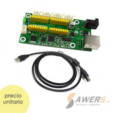 GRBL Controlador USB CNC Laser de 2 ejes