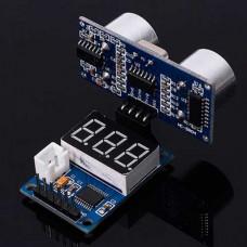 Modulo Visor Telemetro Ultrasonico para HC-SR04