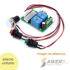 Controlador de velocidad PWM 6-28V 3A 80W (inversion giro)